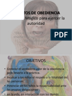 SECRETOS DE OBEDIENCIA