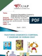 Feedra Cano BenavidesExposicion TDC y Sindrome de Dorian Gray