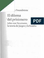 Dilema Del Prisionero (Extrato del libro homónimo de William Poundstone)