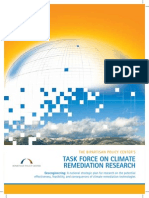 Task Force On Climate Remediation Research