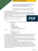 SCCM 2010 Beta 2 Installation Notes