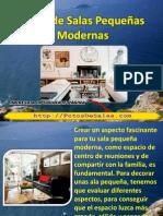 fotos de salas pequeños modernas [Secretos para Decorar]