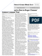 May 29, 2012 - The Federal Crimes Watch Daily