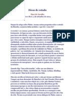46175706 Artigo Olavo de Carvalho Dicas de Estudo