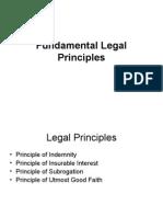 Fundamental Legal Principles