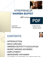 91206385 Ppt on Entrepreneur Warren Buffet