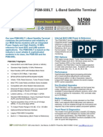 Datum PSM-500LT_Datasheet Dist 01-07-09 Rev 1 3