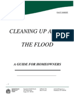 Government of Saskatchewan Cleaning Up After the Flood