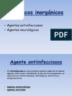 Fármacos inorgánicos