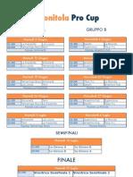 Calendario Monitola Pro Cup
