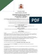 Comunicato UTE 2008-9