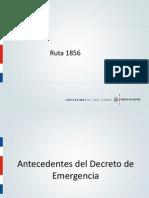 Conferencia de Prensa sobre Ruta 1856