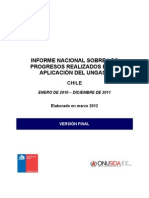 Informe Ungass Chile 2012