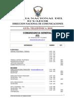 Guia Telelfonica Policia Nacional