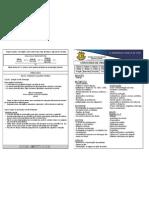 Calendário de Provas e Conteúdos 4° Ano A /B- II Bimestre/2012