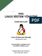 Linux Sistem Yonetimi