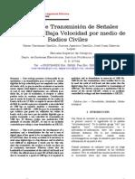 Sistema de Transmisión de Señales