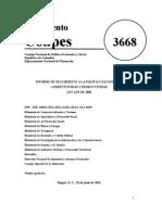 Conpes 3668 informe seguimiento política de competitiv