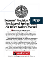 Beeman Break Barrel Air Rifle Manual
