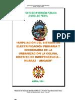 PERFIL ELECTRIFICACION LA COLINA.