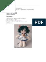 Hace tu muñeca de anime OJO