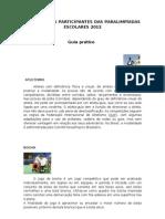 Manual Basico Modal Ida Des Paraolimpiadas Escolares 2012
