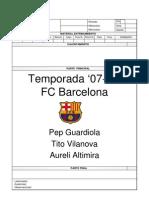 Planificacion F.C. Barcelona