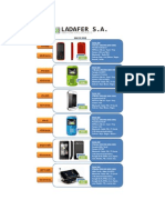 20120521 LADAFER S.a. - Lista de Precios