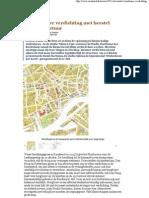 Combineer Verdichting Met Herstel Stadsstructuur