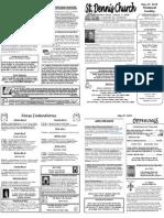 May 27 Bulletin