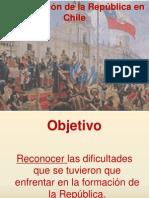 Organización de la república alumnos