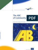 abecedarul dreptului comunitar