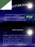 Astro-turismo presentación