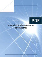 Construieste Singur Panouri Fotovoltaice