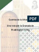 Cuentos de la Alhambra - Una ruta por la Granada de Washington Irving