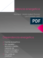 Dependencia energetica