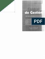 OSTENGO, H., Control de Gestion - Para Graduados Profesional