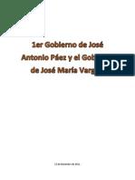 Informe de Historia - Paez y Vargas