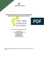 PSPV-PSOE Enmiendas presentadas al texto de la Ordenanza de Administración Electrónica, mayo 2012