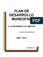 Art15 f2 Plan Municipal Desarrollo Timilpan