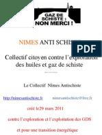 Présentation à Jonquières St Vincent 26 avril 2012