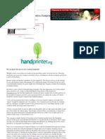 Carbon Hand Prints_ the Positive Footprint