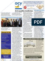 Pharmacy Daily for Wed 30 May 2012 - Quality medicines, Prevenar 13, New SHPA CEO and much more...