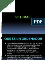 presentacion de sistemas