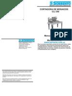 Manual Cortadora CLI350