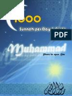 1000 Sunnah Eng