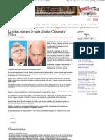 29-05-12 La crisis europea le pega al peso - Carstens y Téllez