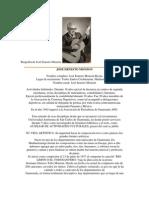 Biografía de José Ernesto Monzón