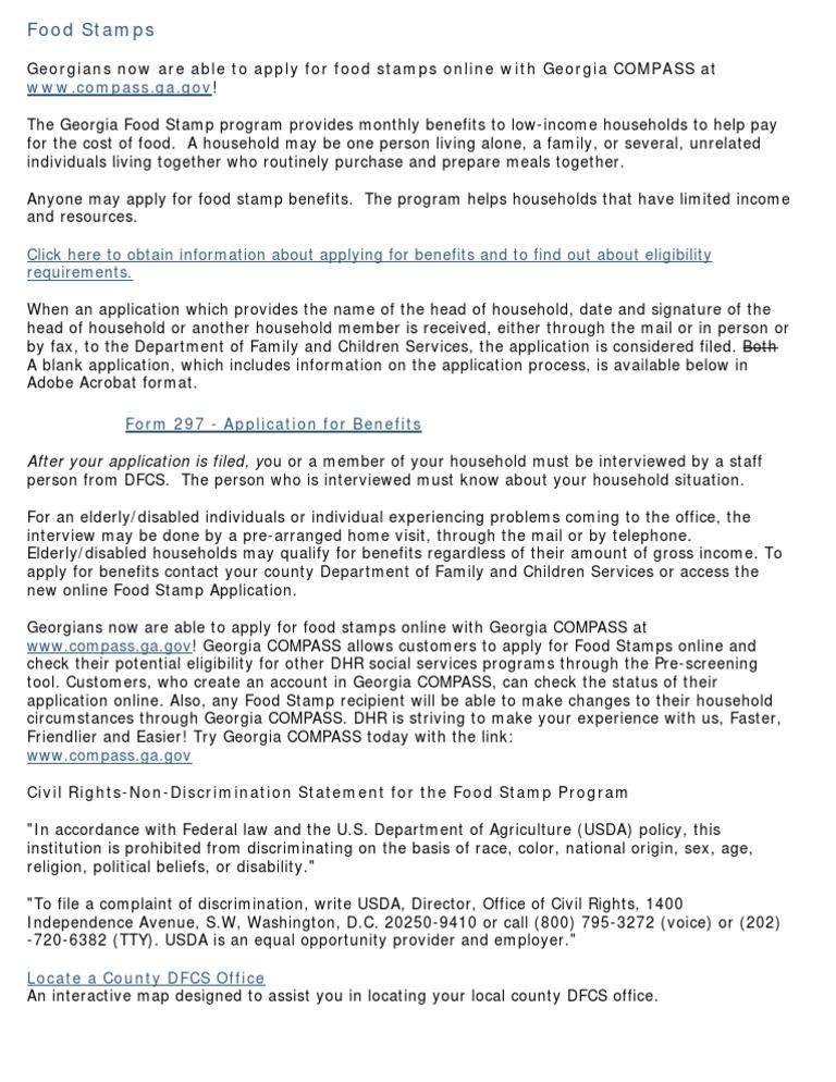 English Supplemental Nutrition Assistance Program United