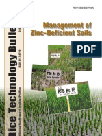 No. 64 Management of Zinc-Deficient Soils